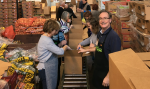 FoodShare volunteers pack Good Food Boxes